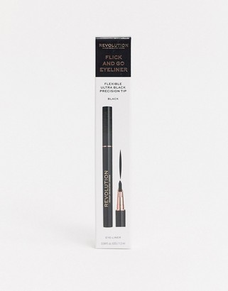 Revolution Flick and Go Eyeliner - Black