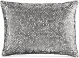 "Calvin Klein Acacia 12"" x 16"" Crimped Sequin Decorative Pillow"