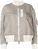 Sacai flight bomber jacket