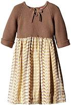 NECK & NECK Girls Knitting Dress,size