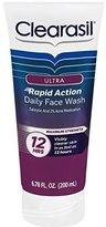 Clearasil Ultra Rapid Action Daily Face Wash, 6.78 oz.