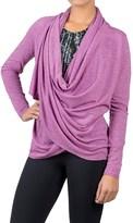 Soybu Shelby Wrap Shirt - Long Sleeve (For Women)