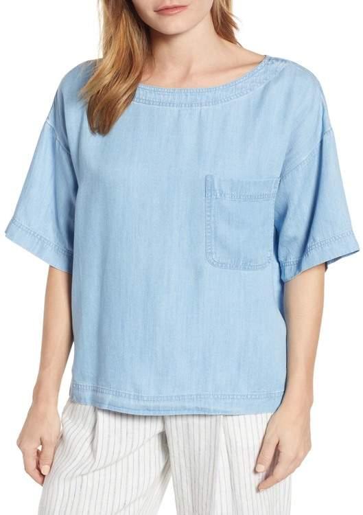 acd990d6f1 Chambray Shirt Women - ShopStyle