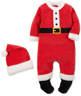 Carter's 2-Pc. Santa Hat & Footed Coverall Set, Baby Boys or Baby Girls (0-24 months)