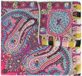 Etro paisley print scarf - women - Silk/Wool - One Size