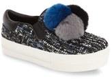 Ash Women's 'Joy' Genuine Rabbit Fur Sneaker