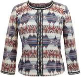 Anna Scott Southwestern Crop Jacket