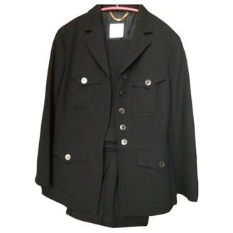 Moschino Black Wool Jackets