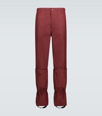 Gucci Mini GG pants with gaiters