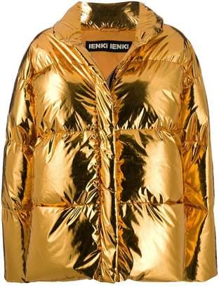 Ienki Ienki metallic puffer jacket