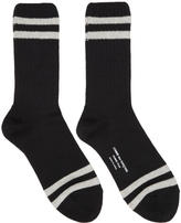 Comme des Garcons Black Rib Stripes Socks
