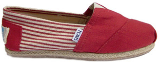 Toms University red rope slip-on - 37.5 | red - Red/Red