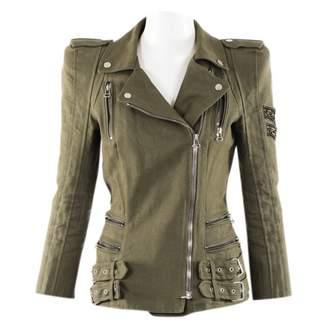 Balmain Green Cotton Jackets