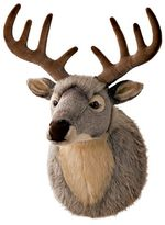 Gund® Wild And Wooly Deer Plush Wall Decor