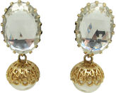 One Kings Lane Vintage Schreiner Faux-Pearl Earrings