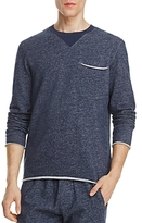 ATM Anthony Thomas Melillo Brushed Terry Melange Sweatshirt