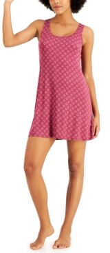 Alfani Ultra-Soft Ruched Racerback Nightgown, Created for Macy's