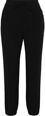 Derek Lam 10 Crosby Striped Crepe Track Pants