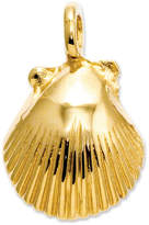 Macy's 14k Gold Charm, Seashell Charm