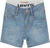Levi's Light Wash Pull Up Shorts
