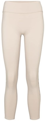 Reebok x Victoria Beckham Cropped technical-jersey leggings