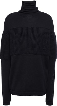 Lanvin Ribbed Wool Turtleneck Sweater