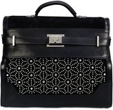 DSQUARED2 studded buckle holdall
