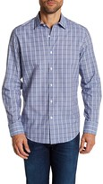 Robert Barakett Regular Fit Dobby Check Regular Fit Sport Shirt