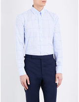 Turnbull & Asser Checked Regular-fit Cotton Shirt