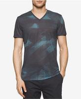 Calvin Klein Men's Geometric V-Neck T-Shirt