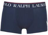 Polo Ralph Lauren SOLID TRUNK-SINGLE-TRUNK men's Boxer shorts in Blue