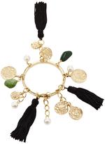 Oscar de la Renta Tassel Charm Bracelet