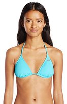 Roxy Women's Essentials Tiki Triangle Bikini Top