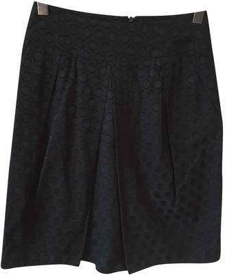 Valentino Navy Cotton Skirt for Women