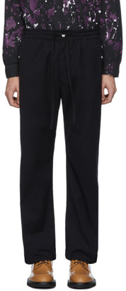 Needles Black Twill Cowboy Trousers