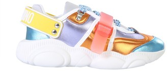 Moschino Colour-Block Teddy Sneakers