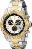 Versus By Versace Men's SOC060014 AVENTURA Stainless Steel Two-Tone Watch