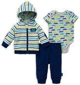 Offspring Infant Boys' Racecars Jacket, Bodysuit & Pants Set - Sizes 3-12 Months