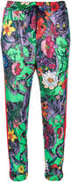 Gucci cropped floral track pants