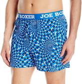 Joe Boxer Men's Hipnotic Novelty Loose Boxer