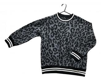 R 13 Black Wool Knitwear