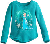 Disney Elsa Thermal Tee for Girls