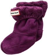 Hunter 6 Stitch Cable Boot Sock Girls Shoes