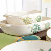 Spring Herb Italian Ceramic Bakers