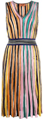 Missoni Stripe-Print Sleeveless Dress