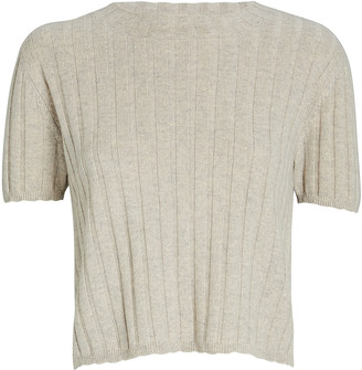 SABLYN Ethan Cashmere Short Sleeve Sweater