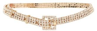 MaryJane Claverol Status Quo Crystal-embellished Belt - Crystal