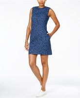 Calvin Klein Jeans Printed Denim Shift Dress
