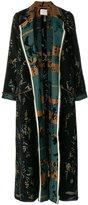 Forte Forte floral long coat