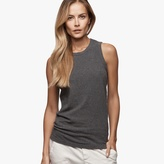 James Perse Sueded Jersey Crew Tank